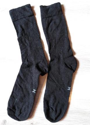 Носки плотные р. 44-46 tcm tchibo германия тёмно-серые