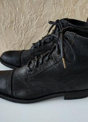 Шикарные ботинки levis maine lace up оригинал