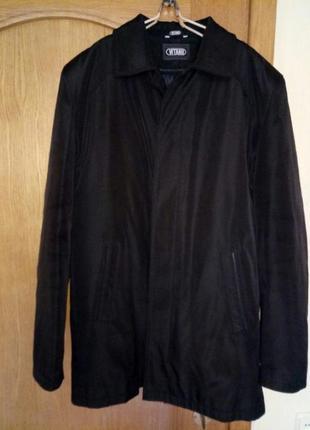 Пальто на съемной шерстяной подкладке. цена: 40 грн. размер: 48.
