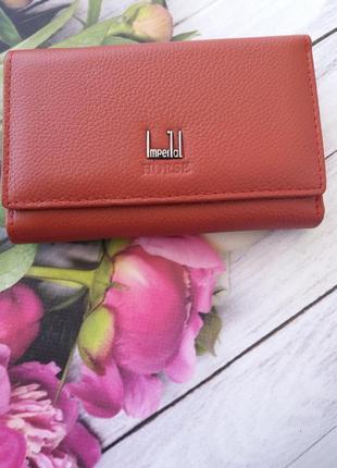Женский кожаный кошелек. шкіряний жіночий гаманець