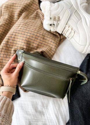 Поясная сумочка хаки