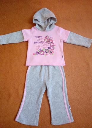 Спортивний костюмчик для дівчинки 12-18міс.