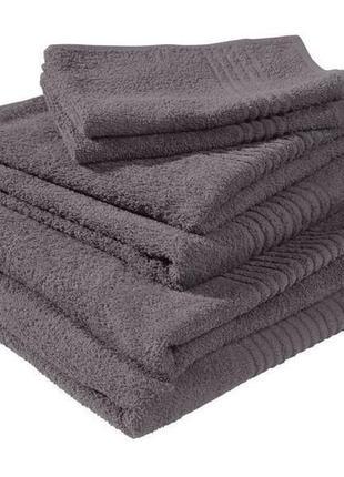 Махровые полотенца miomare германия,набор 6 штук