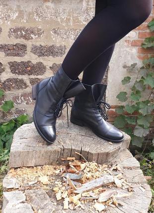 Ботинки нат. кожа oxmox