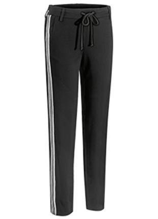 М(40-42 евр.) женские брюки с плотного трикотажа от blue motion
