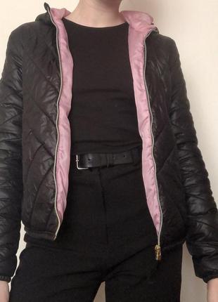 Утеплённая курточка bershka