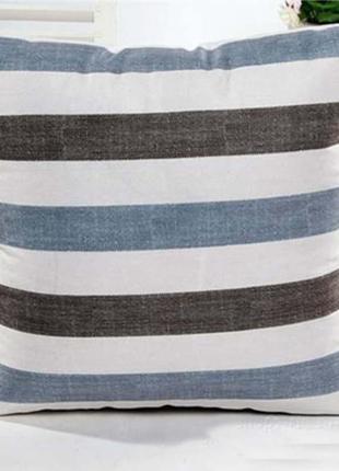 Полосатая подушка