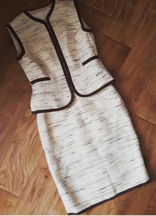 Твідовий костюм 44 - 46 розмір