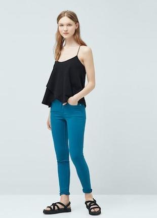 Базовые джинсы от mango, 34р, испания, оригинал