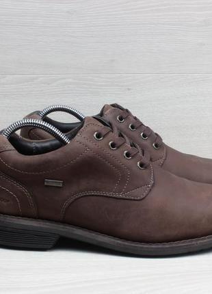 Кожаные мужские туфли marks&spencer waterproof, размер 42.5