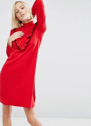 Теплое кашемировое платье