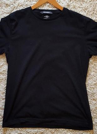 Черная футболка h&m