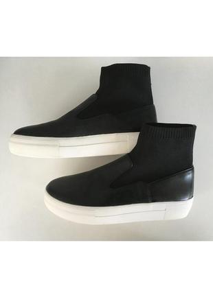 Стильные криперы кеды кроссовки полусапожки для подростков zara (испания) 36 размер