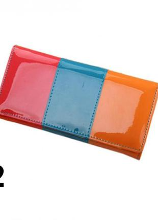 3-89 роскошный лаковый кошелек
