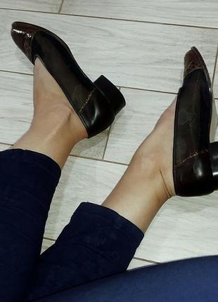 Необычные туфли сеткой, италия 39,5 - 40 размер