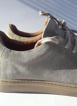 Замшевые кроссовки кеды туфли selected/homme made in portugal