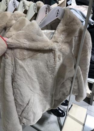 Шуба куртка stradivarius