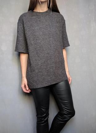 Пуловер джемпер с коротким рукавом