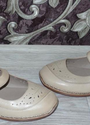 Новые кожаные туфли footglove р 37-38
