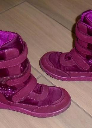 Зимние термо ботинки richter 28 р