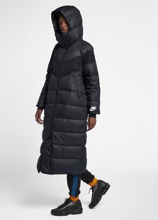 Новая длинная парка, куртка, пуховик nike down fill parka