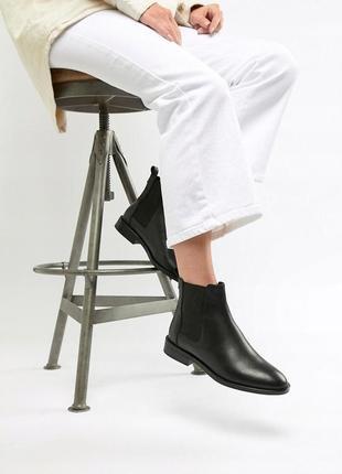 Шкіряні черевики asos