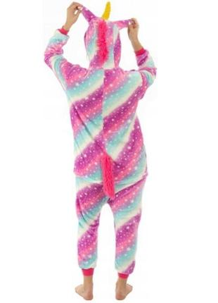 ❗есть наложенный❗оригинальные пижамы кигуруми единорог северное сияние