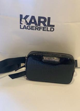 Поясная сумочка karl lagerfeld оригинал новая
