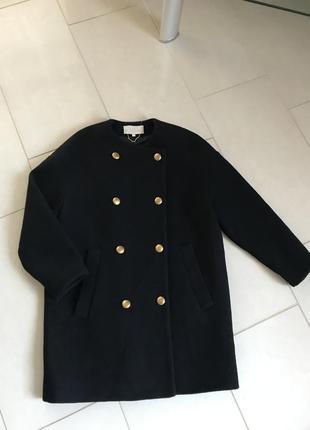 Пальто тренч шерстяной демисезонное дорогой бренд vanessa bruno размер s или 36