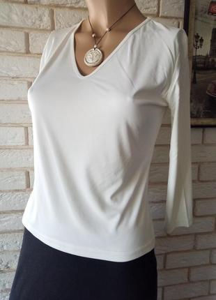 Актуальная, брендовая блузка, кофточка, лонгслив  12
