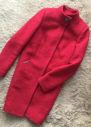 Пальто из валяная шерсть букле