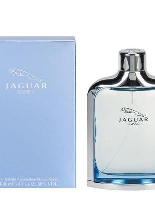 Туалетна вода jaguar new classic men 2002 edt spray 100 мл