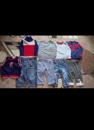 Пакет одягу для хлопчика 6-12м.(пакет одежды ,вещей на мальчика 6-12м.,)
