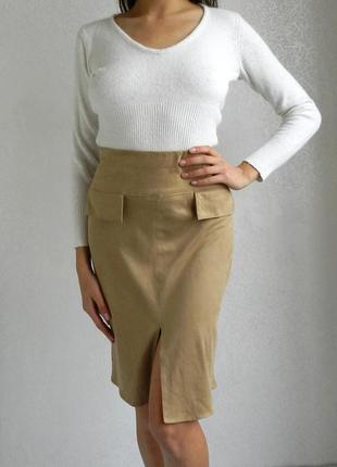 Шикарнейшая замшевая юбка