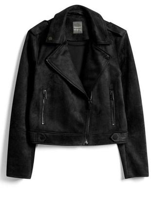 Актуальная курточка/косуха эко кожа primark p. 8.