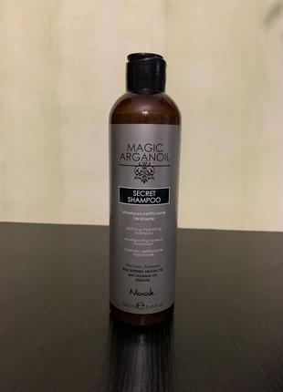 Увлажняющий шампунь nook magic arganoil secret shampoo 250 ml