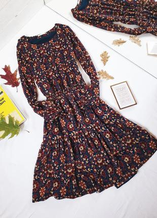 Платье шифон шифоновое кантри бохо