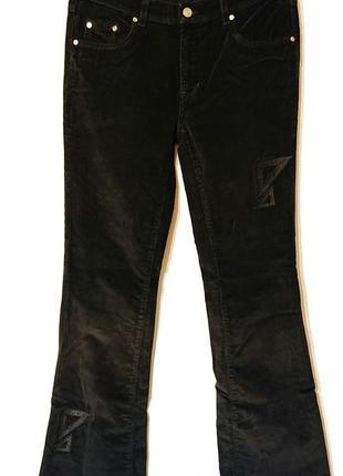 Женские вельветовые джинсы брюки madoc w30 l34 размер м-l 46-48