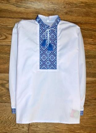 Вишиванка,сорочка з вишивкою, вышиванка,рубашка-вышиванка для мальчика 12 лет