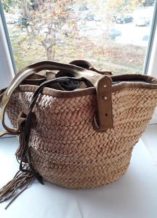 Соломянная сумочка