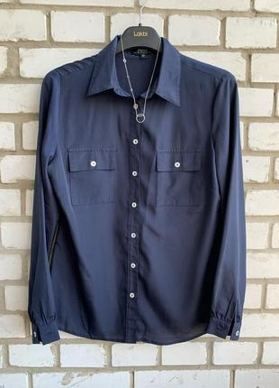 Классическая блузка рубашка papaya