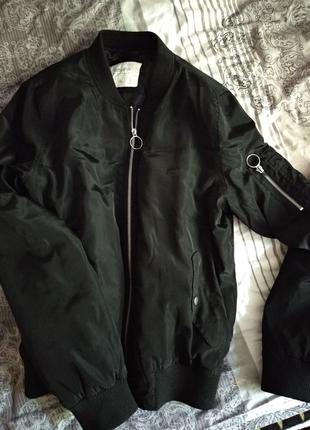 Бомбер куртка пилот crop , бомберка от cropp