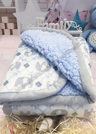 Канадский брендовый плед blankets and beyond тёплый пледик двойной одеяло