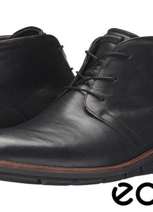 Кожаные ботинки ecco jeremy hybrid р,45 оригинал cловакия