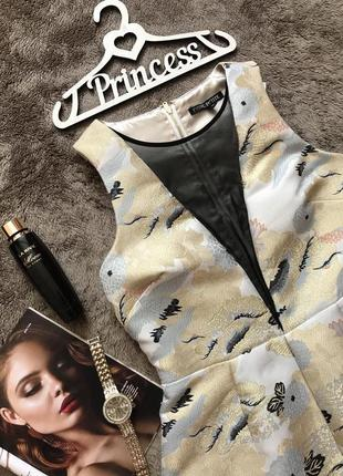 Платье нарядное, стильное, выпускное, праздничное, украинский орнамент next