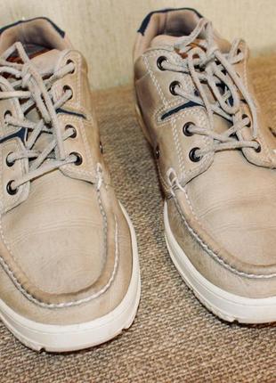 Timberland мужская обувь 42-43 нубук кеды туфли ботинки