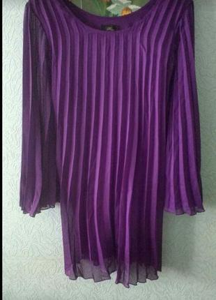 Очаровательное платье гофре