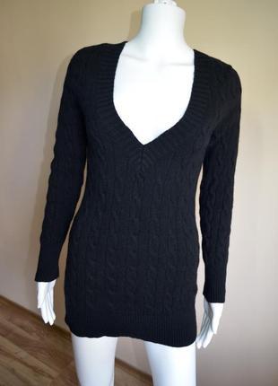Теплая уютная кофта свитер ralph lauren шерсть кашемир