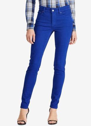 Ralph lauren синие котоновые брюки