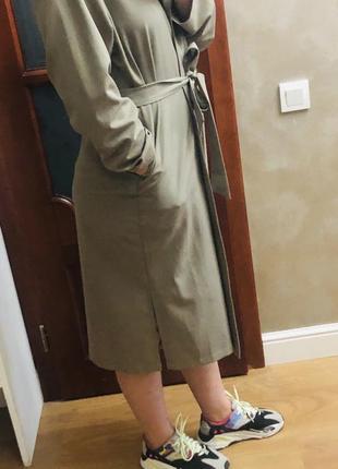 Тренч платье